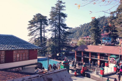 swimming pool at hill station
