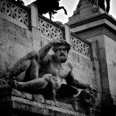 black-and-white-historical-statue-monument